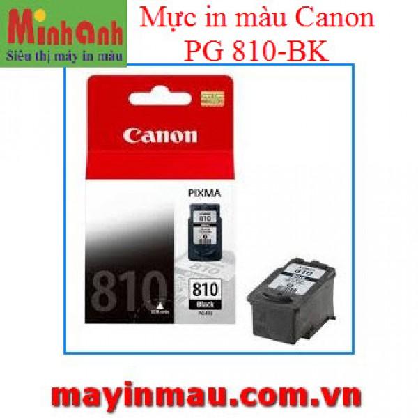 Mực in phun màu Canon 810 Black - Màu đen