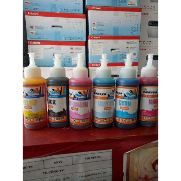 Mực epson Dye 100ml Mới bán lẻ màu