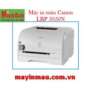 Máy in Laser màu Canon 5050N - In mạng