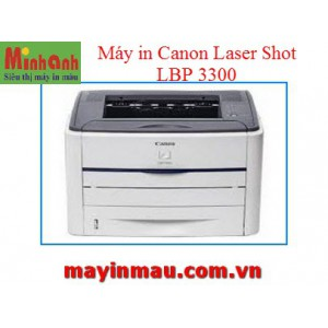 Máy in laser đen trắng Canon LBP3300 (in A4, tự động in đảo mặt)