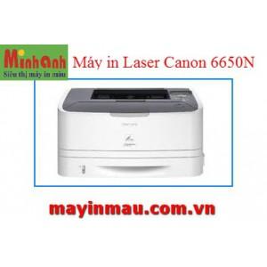 Máy in Laser đen trắng Canon 6650dn - Tự động đảo giấy, in mạng