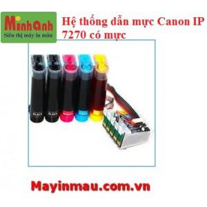 Hệ thống dẫn mực ngoài Canon IP7270 có mực