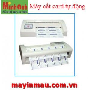 Máy cắt card visit tự động khổ A4
