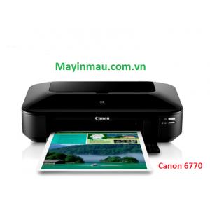 Máy in phun màu Canon Pixma IX6770 zin hoặc lắp dẫn ngoài canon dye uv