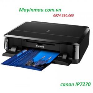 Máy in phun màu Canon Pixma IP 7270 - Khổ A4 (In Wifi) mực xịn Đảo mặt