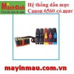 Hệ thống dẫn mực ngoài Canon IX6560 có mực