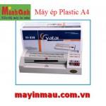 Máy ép Plastic khổ A3 (4 lô cao su lớn)