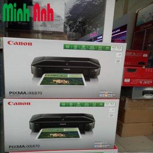 Máy in phun màu Canon Pixma IX6870 in wifi