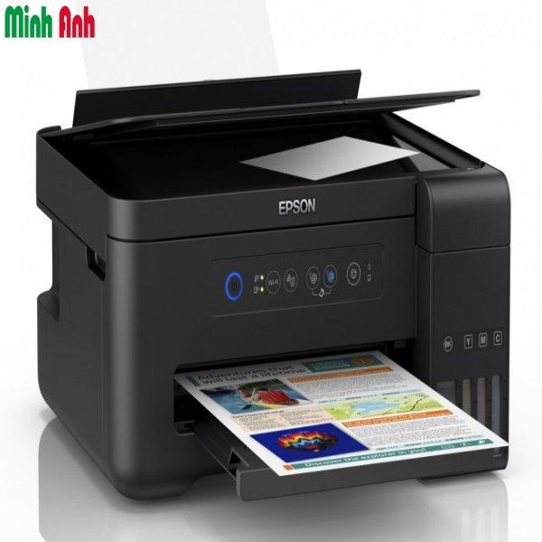 Máy in phun Epson L4150 đa năng in,scan,copy