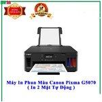 Máy in phun màu đơn năng Canon PIXMA G5070 đảo mặt ,wifi